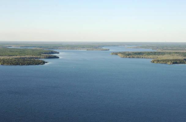 Lake George Northwest Inlet