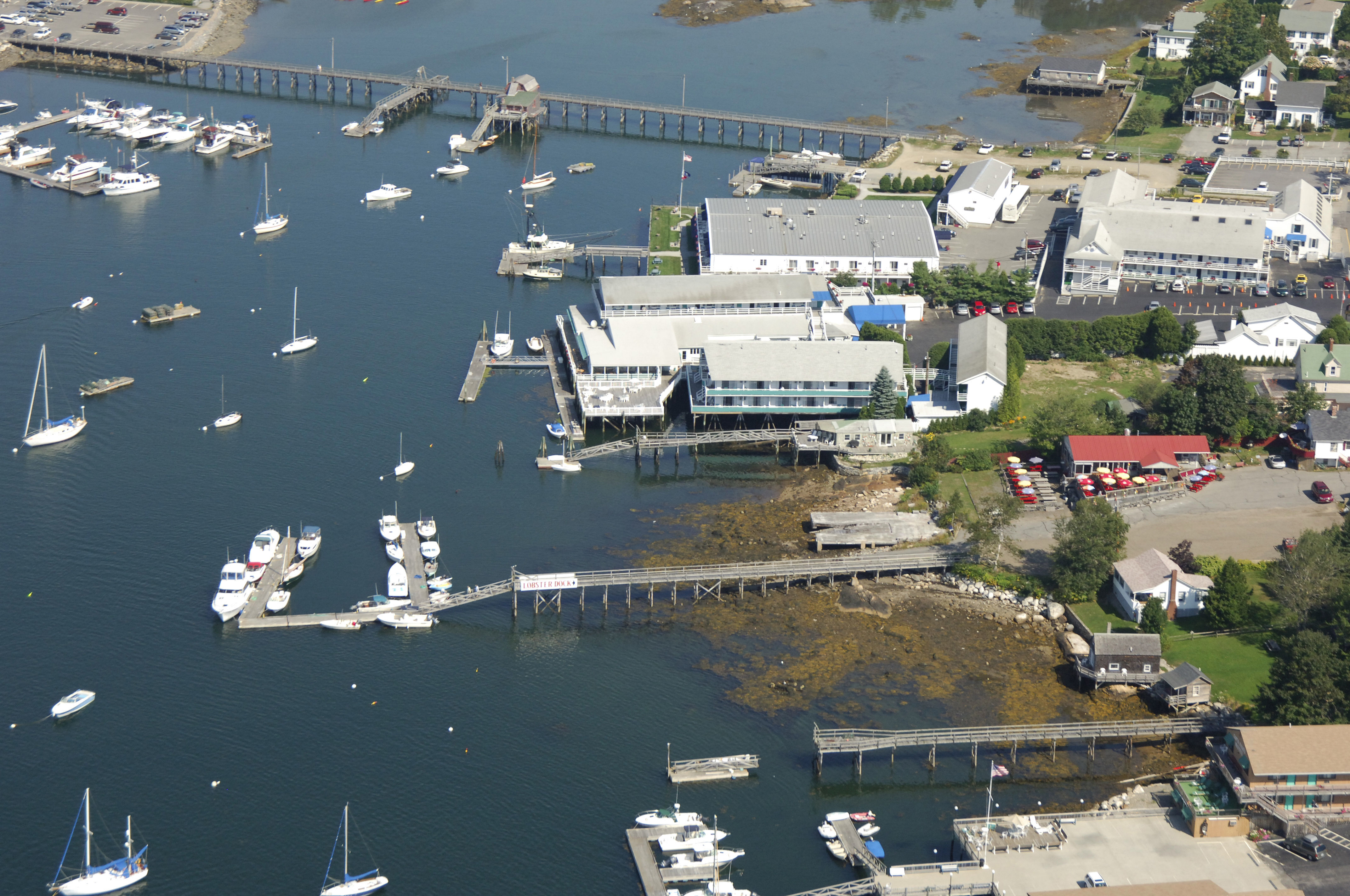 The Lobster Dock Restaurant & Marina in Boothbay Harbor, ME, United States - Marina Reviews ...