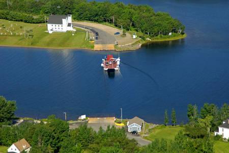 Little Narrows Ferry