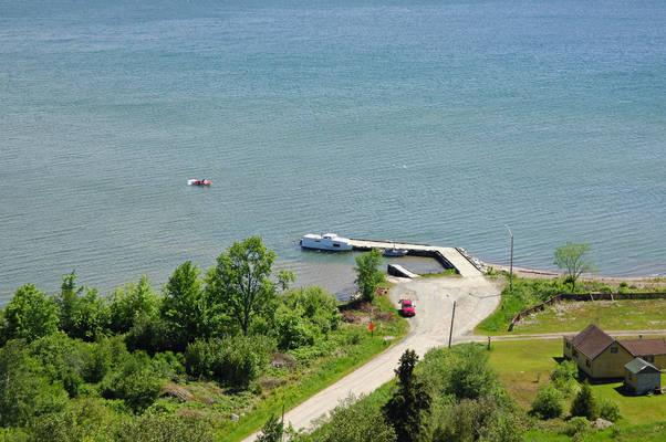 Goulais Mission Harbour Docks
