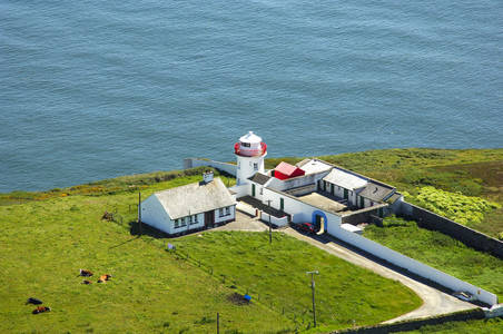 Kilcredaun Head Light (Kilcredaun Point Light)