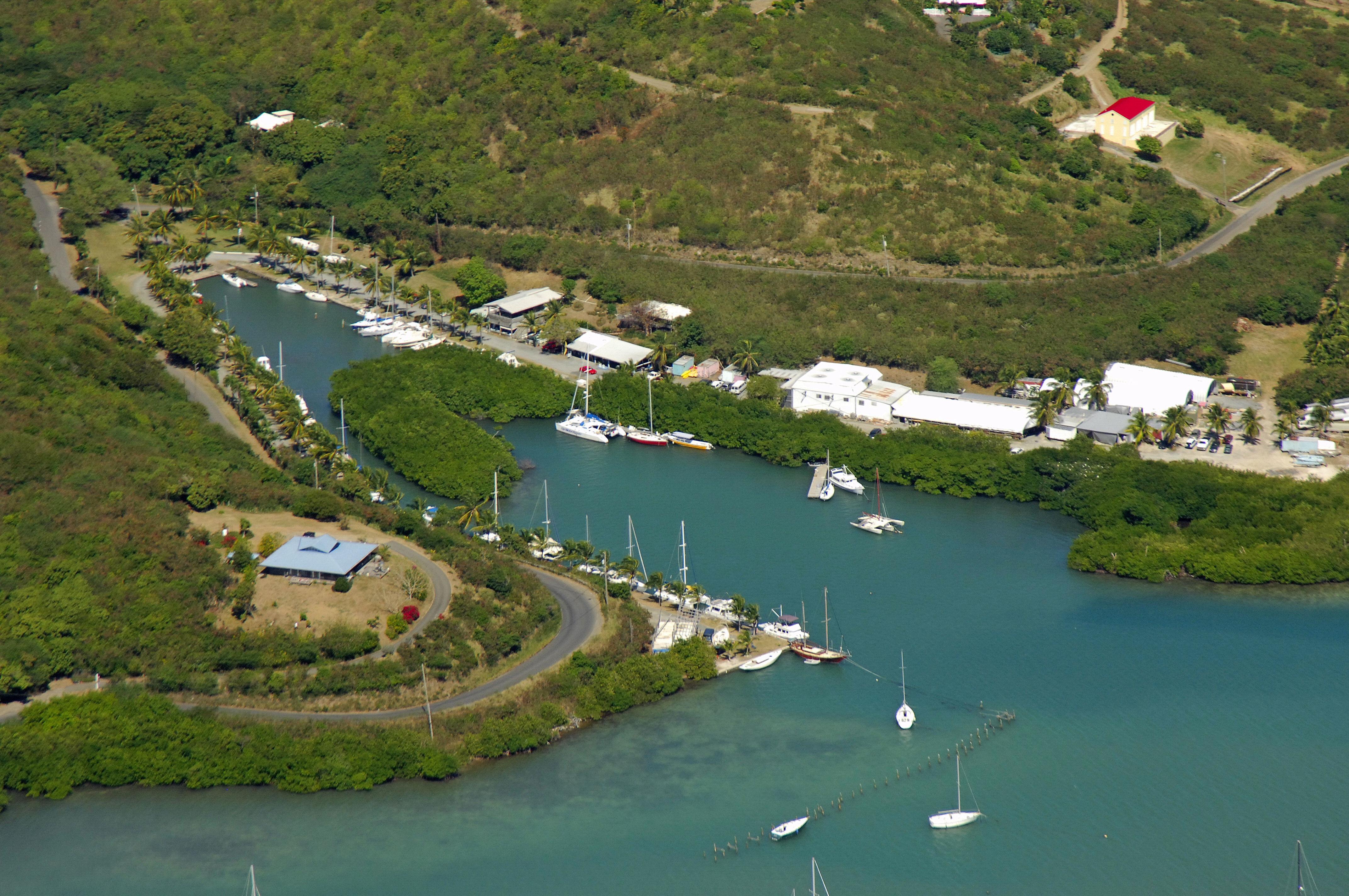 St Croix Marina Virgin Islands