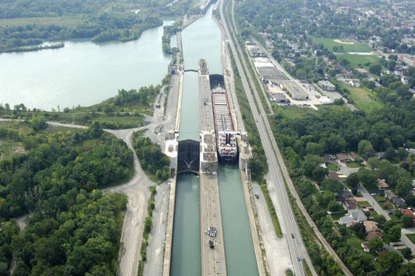 Welland Canal Lock 6