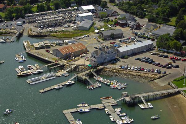 Duxbury Bay Maritime School Marina