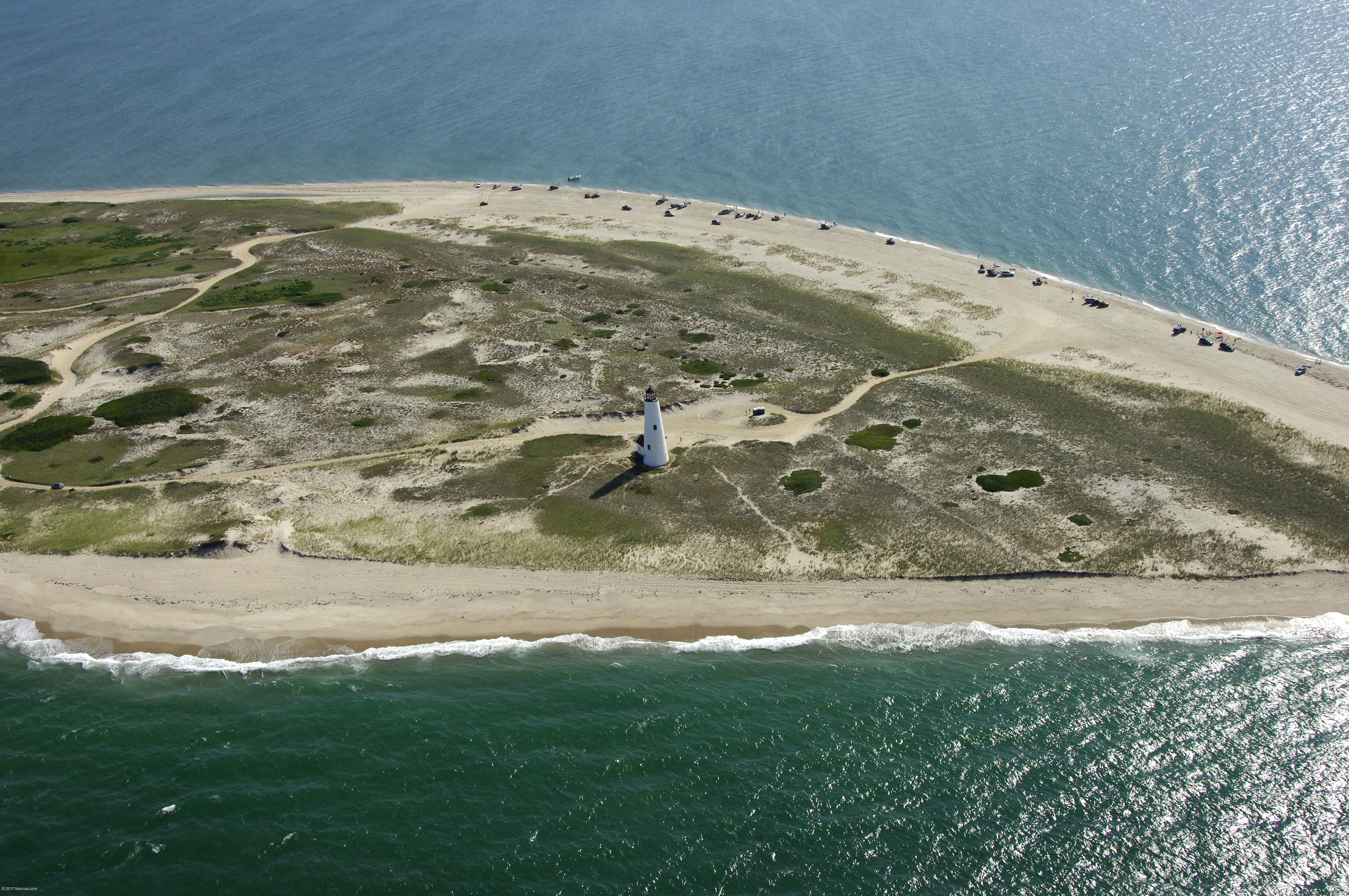 how to get to great point lighthouse
