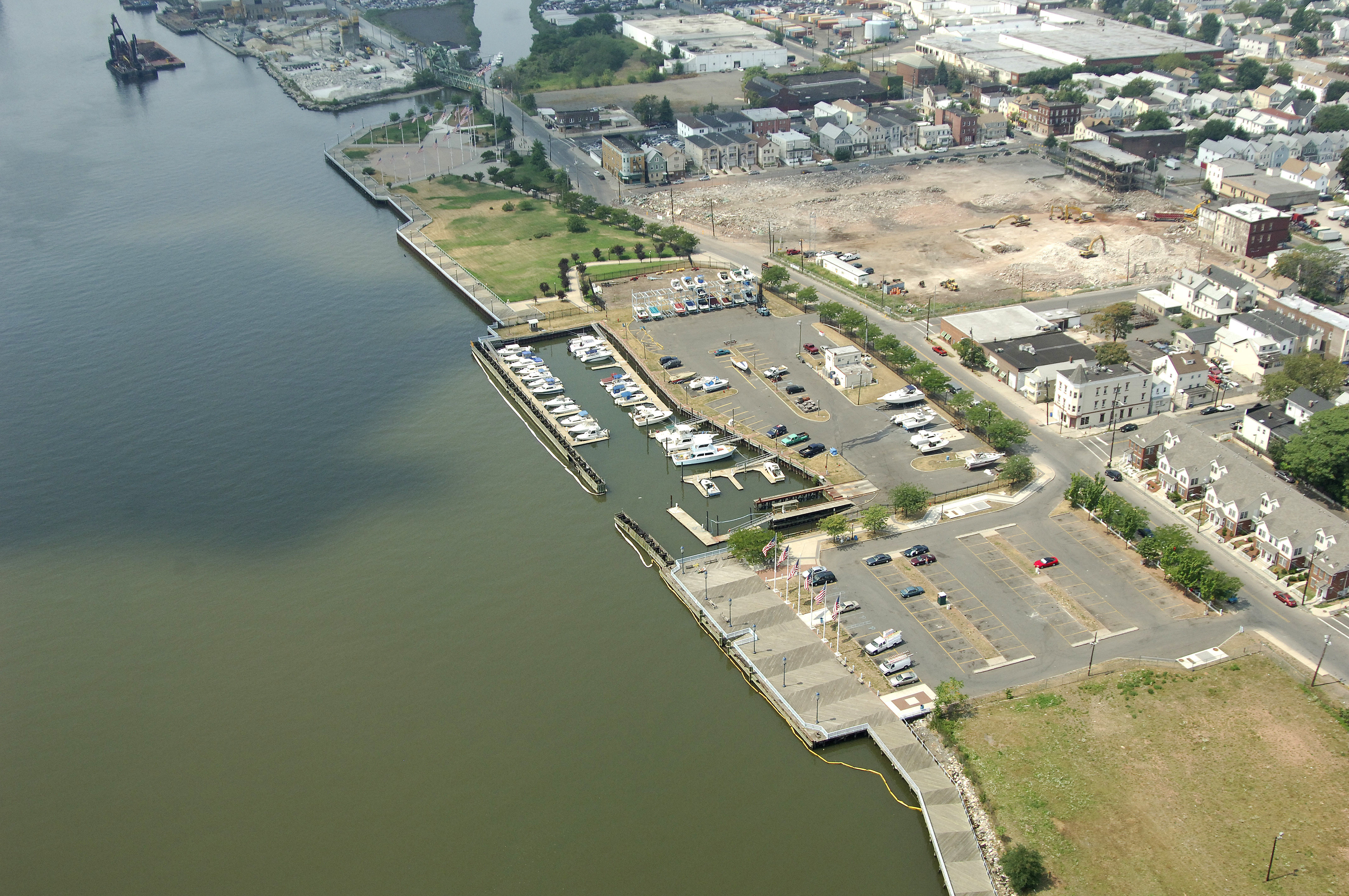 Elizabeth City Marina In Elizabeth  Nj  United States