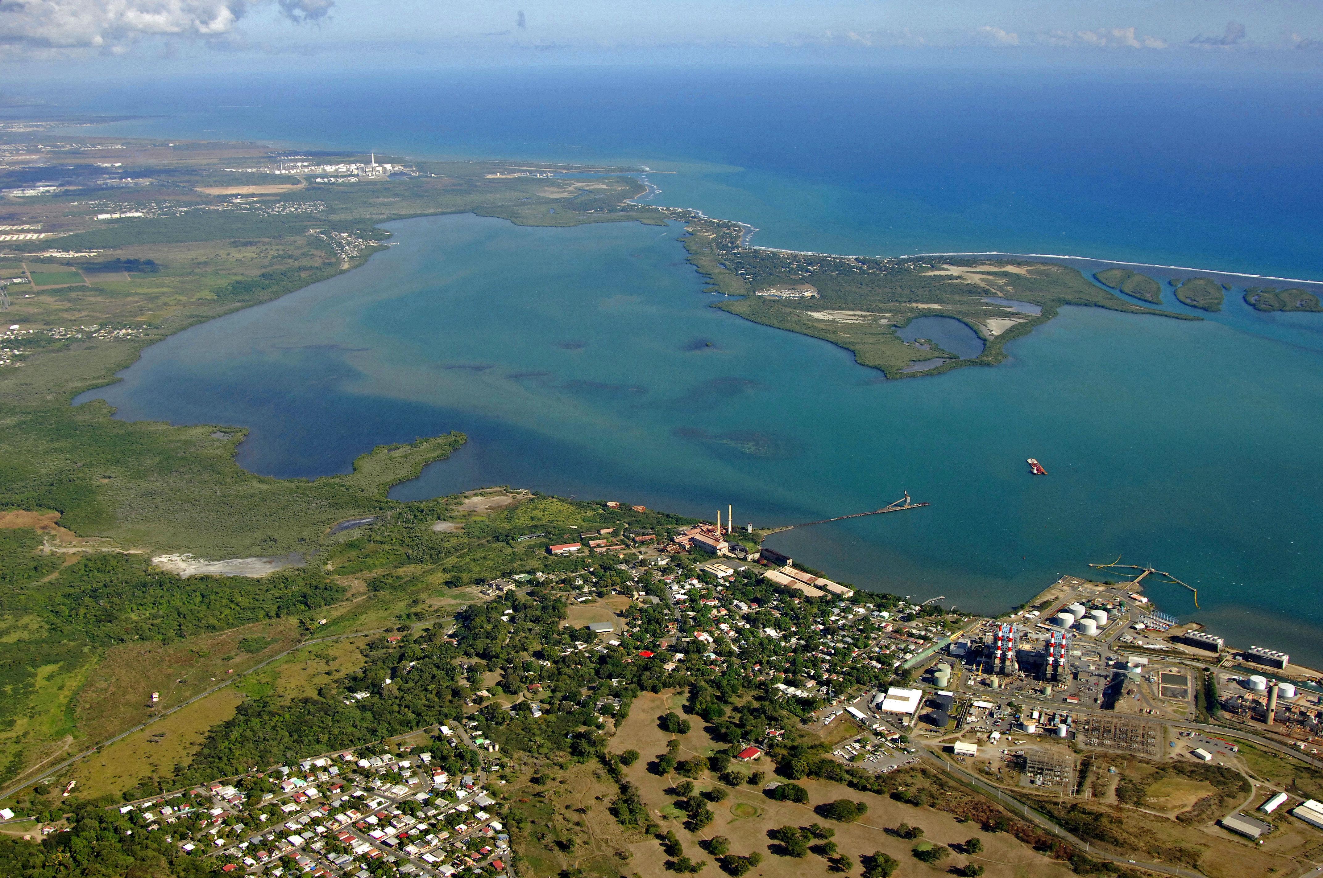 Jobos Bay In Port Jobos Salinas And Guayama Puerto Rico Harbor