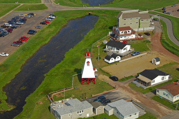 Pointe du Chene Rear Range Light