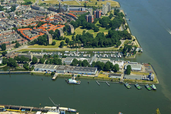 Rotterdam Spuihaven Marina