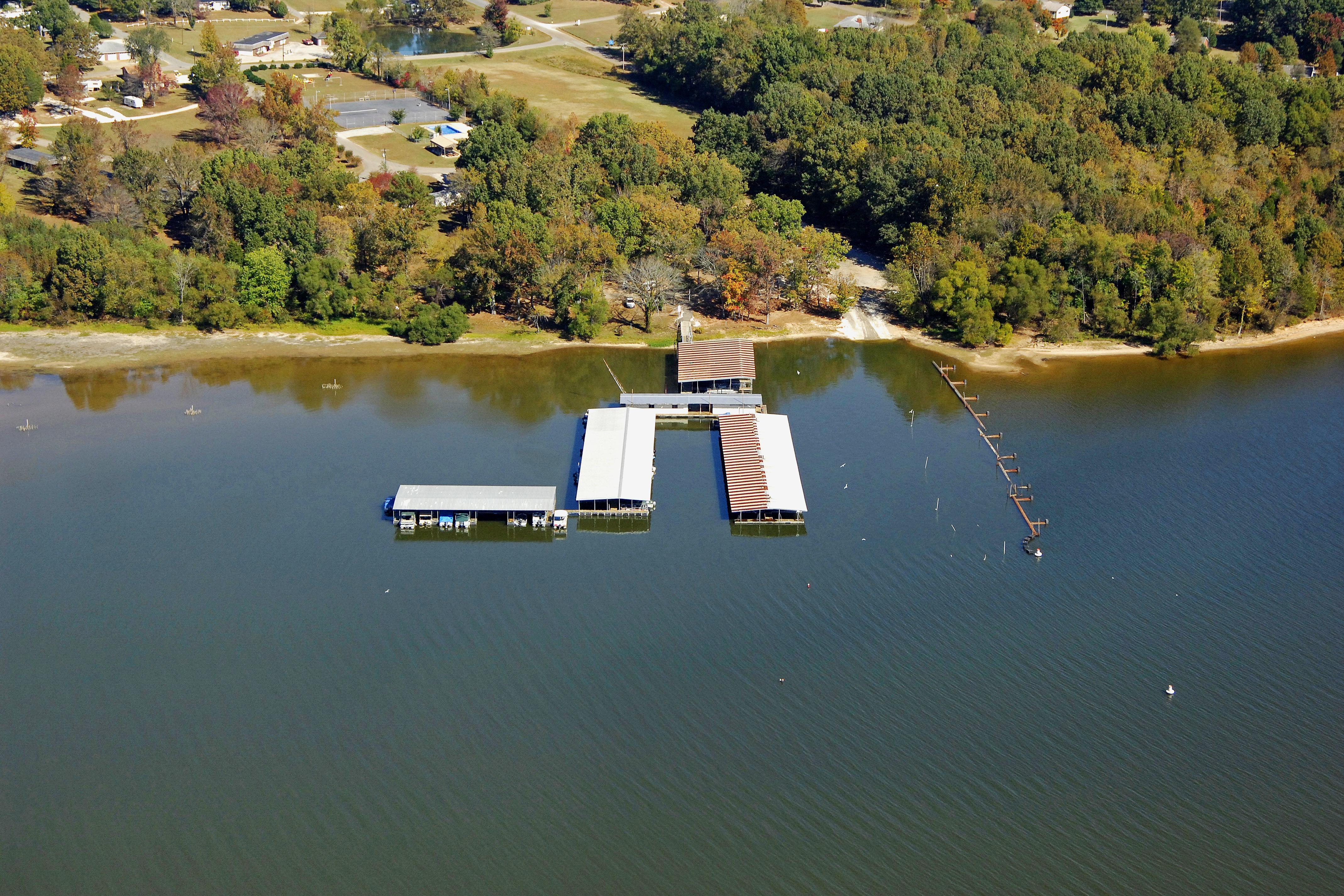 Mansard Island Resort Marina in Springville, TN, United States