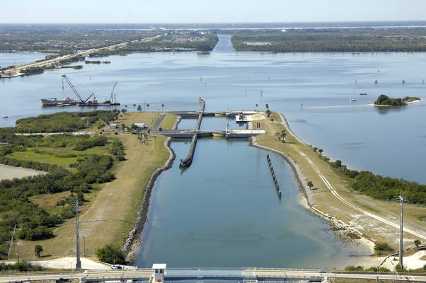 Cape Canaveral Canal Lock