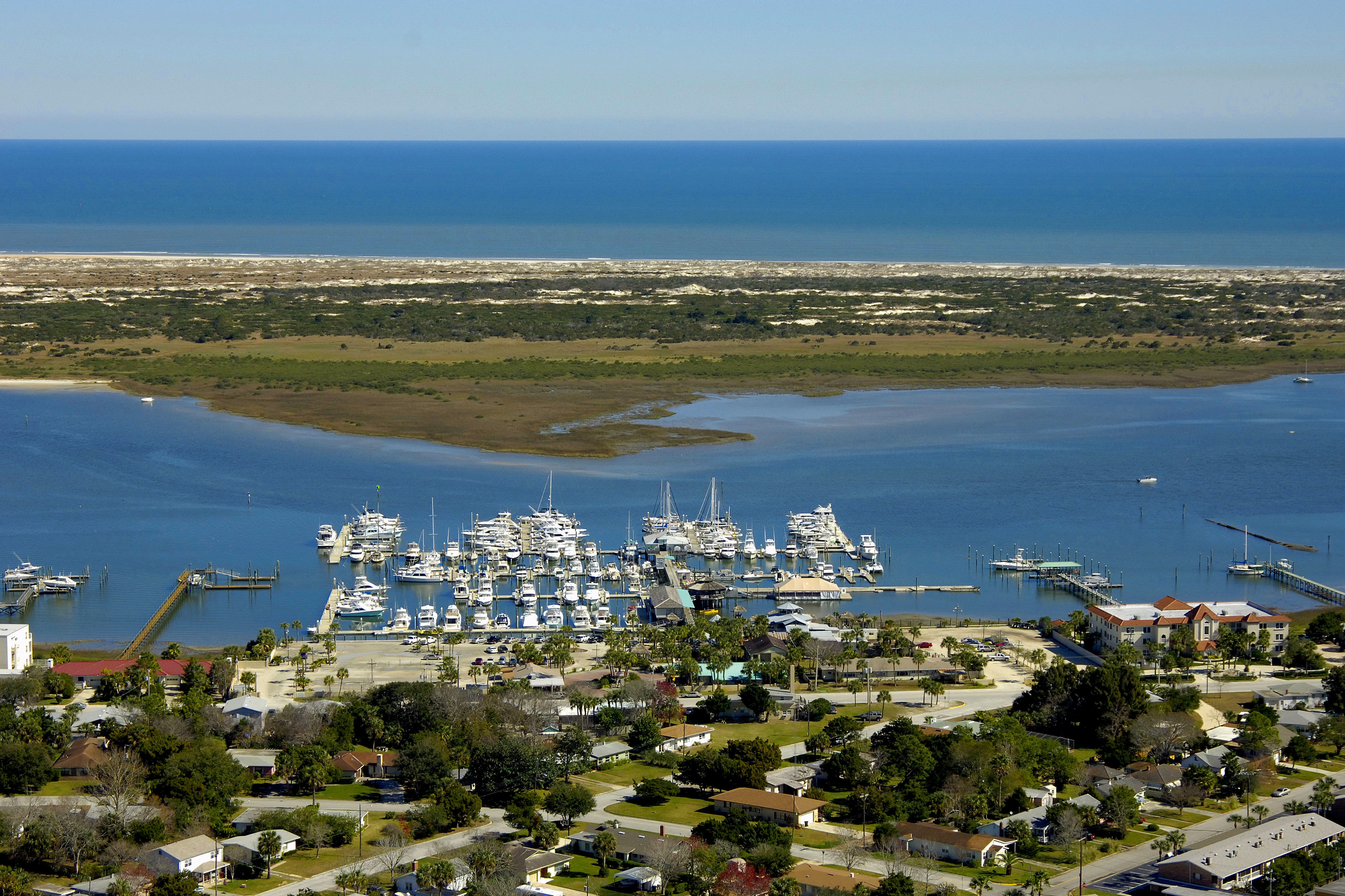 conch house marina resort in st augustine fl united states