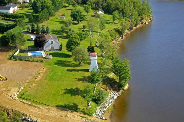 Oak Point Front Range Lighthouse