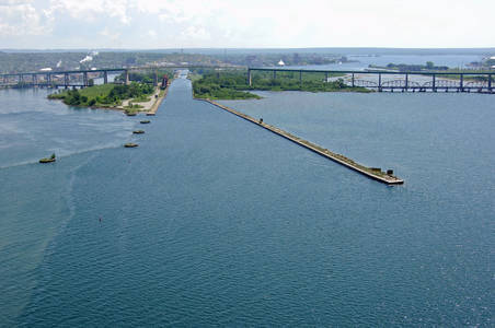 Sault St. Marie Canal West Inlet