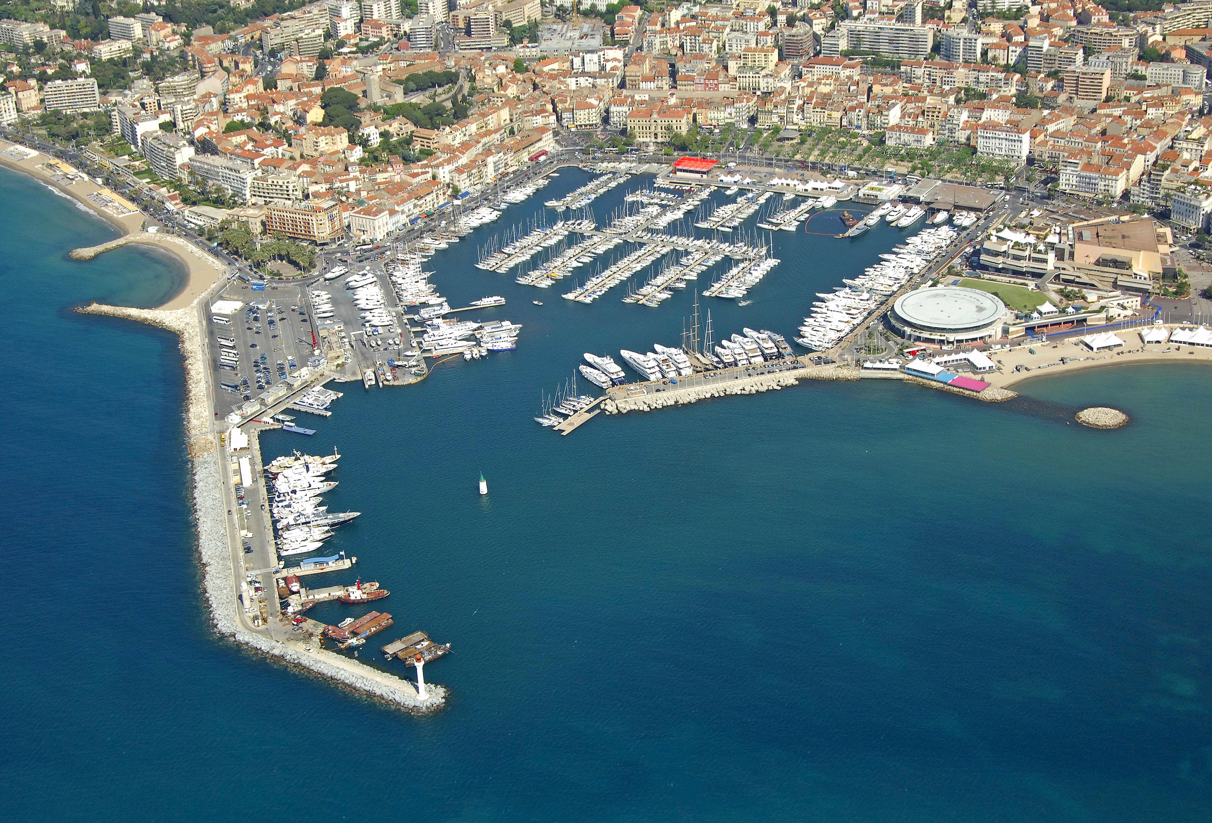 Port de cannes marina in cannes provence alpes cote d 39 azur france marina reviews phone - Port de cannes capitainerie ...