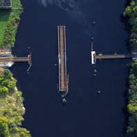 Pocomoke River Conrail Swing Bridge