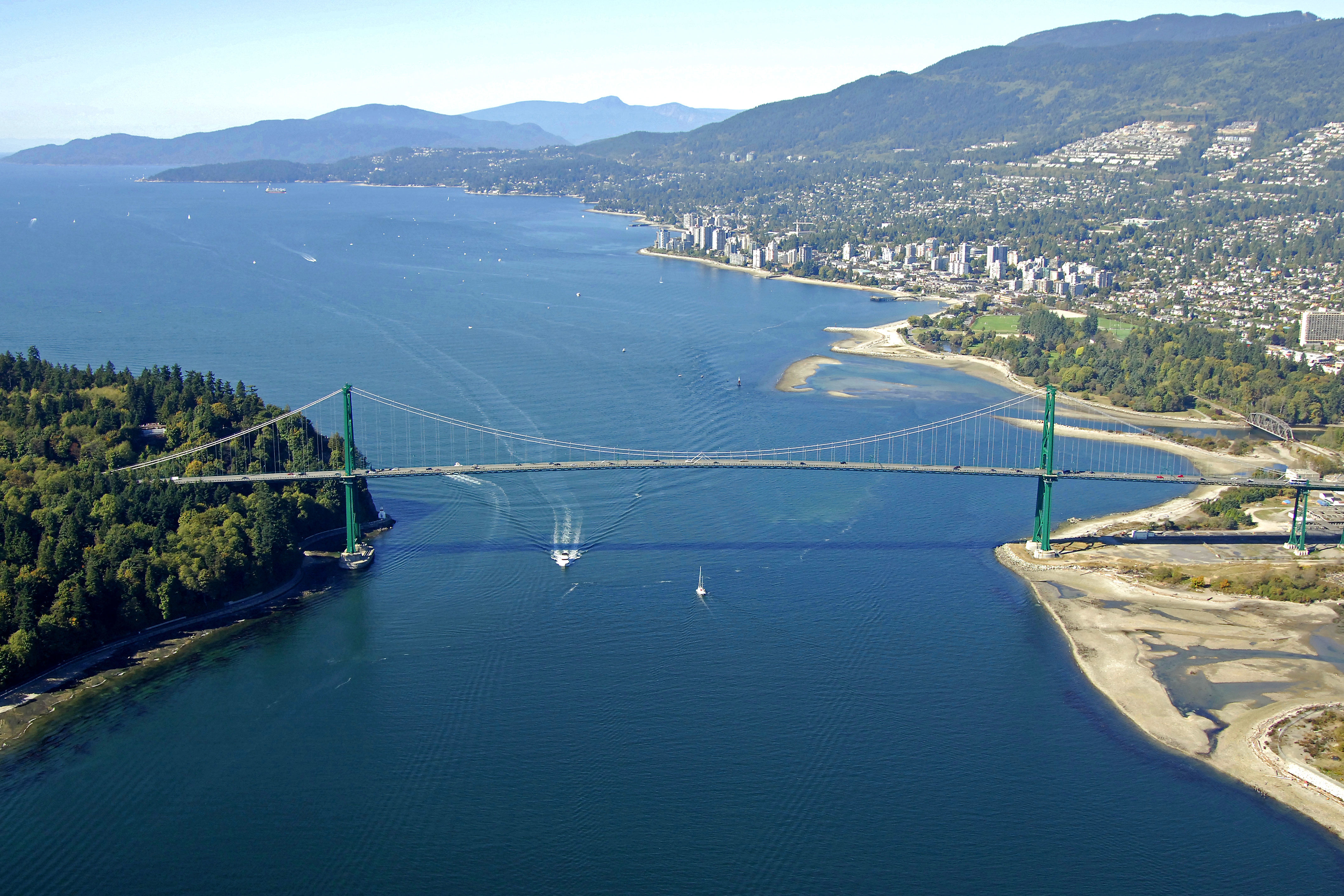 Lions Gate Bridge Landmark in Vancouver, BC, Canada - landmark Reviews - Phone Number - Marinas.com