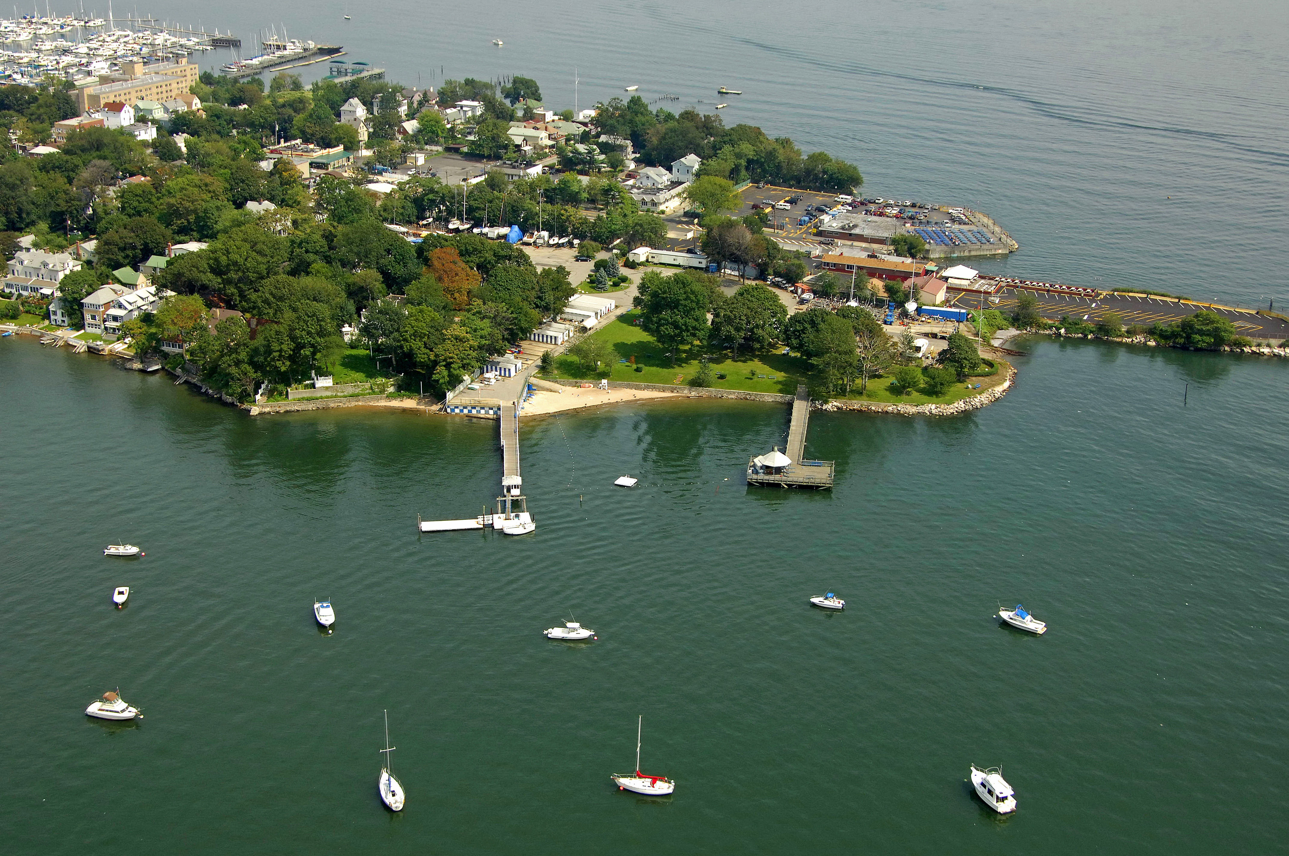 the morris yacht beach club in city island ny united states