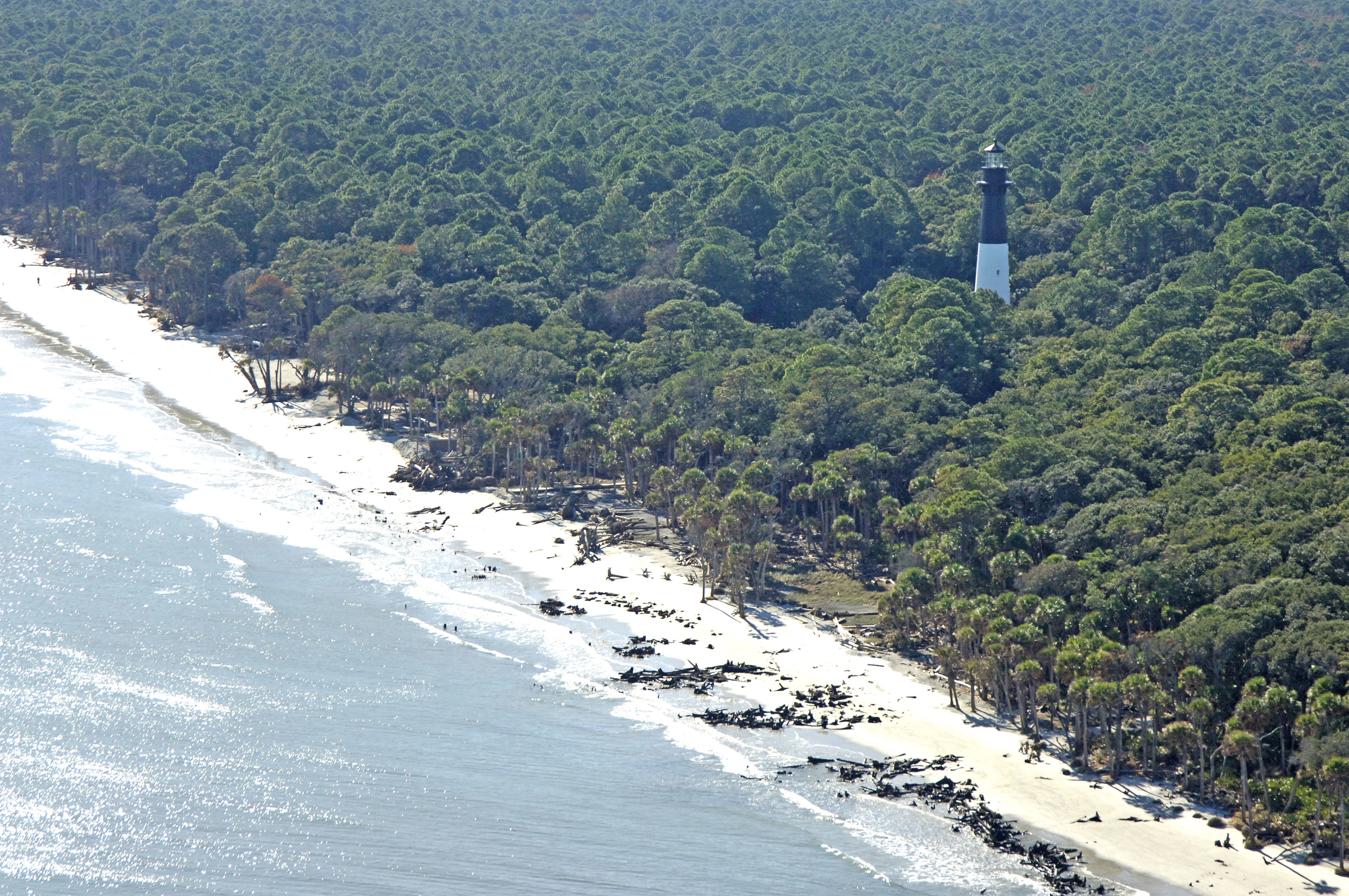 Hunting Island Light Lighthouse in Beaufort, SC, United
