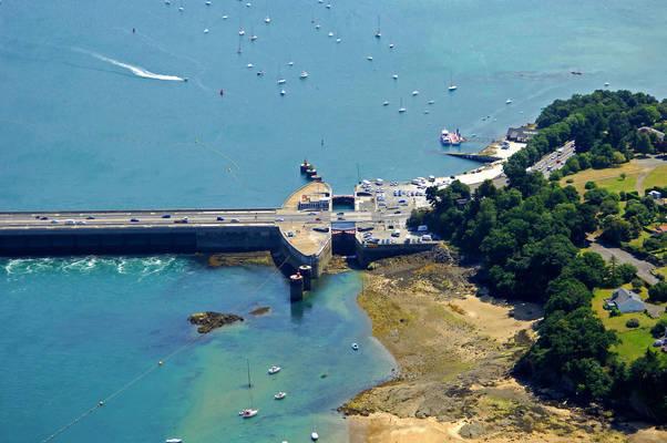 Rance Barrage Lock