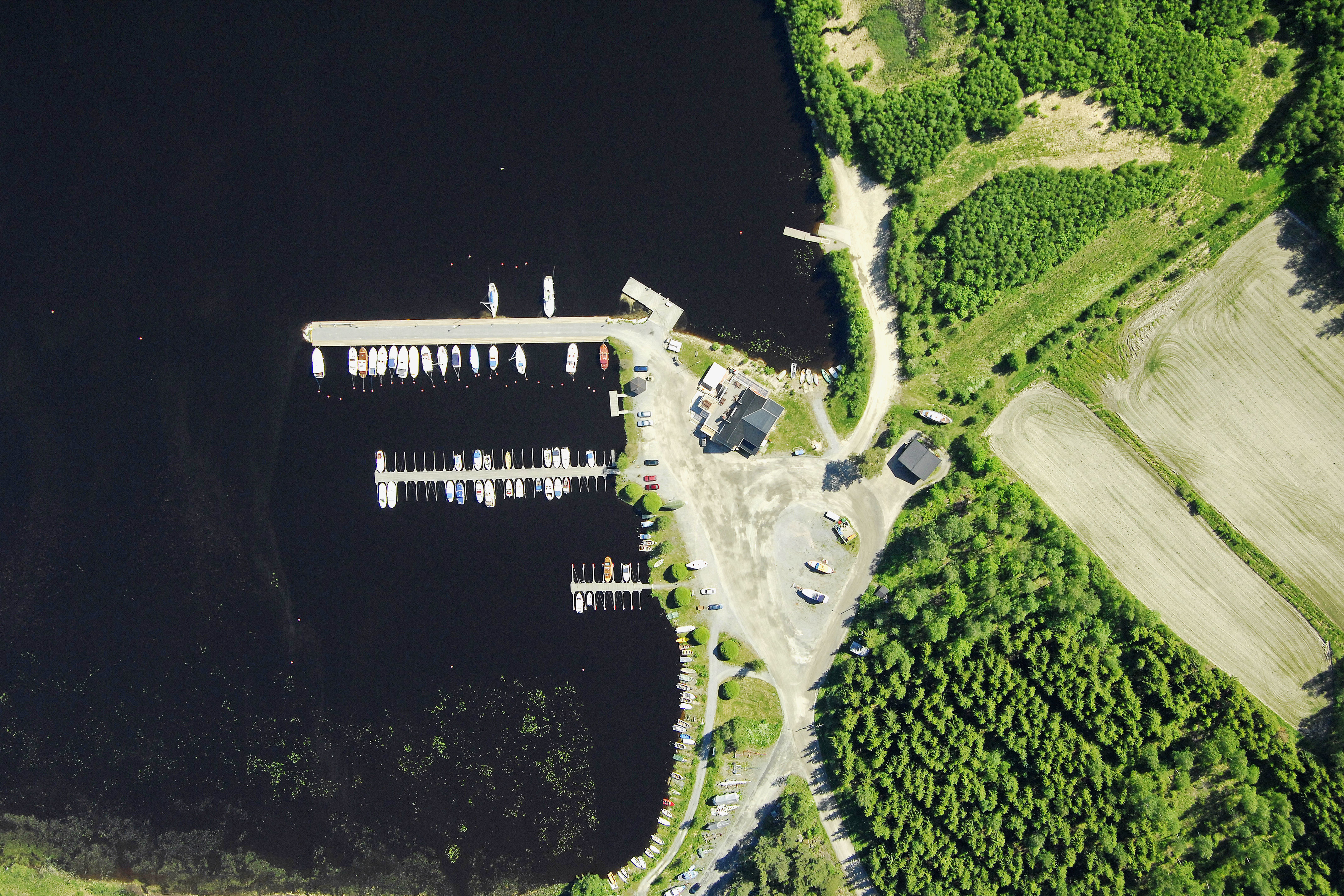 Jamsa Hulkkionlahti Marina in Kaipola Finland Marina Reviews
