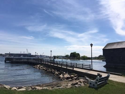Prescott Park Municipal Dock