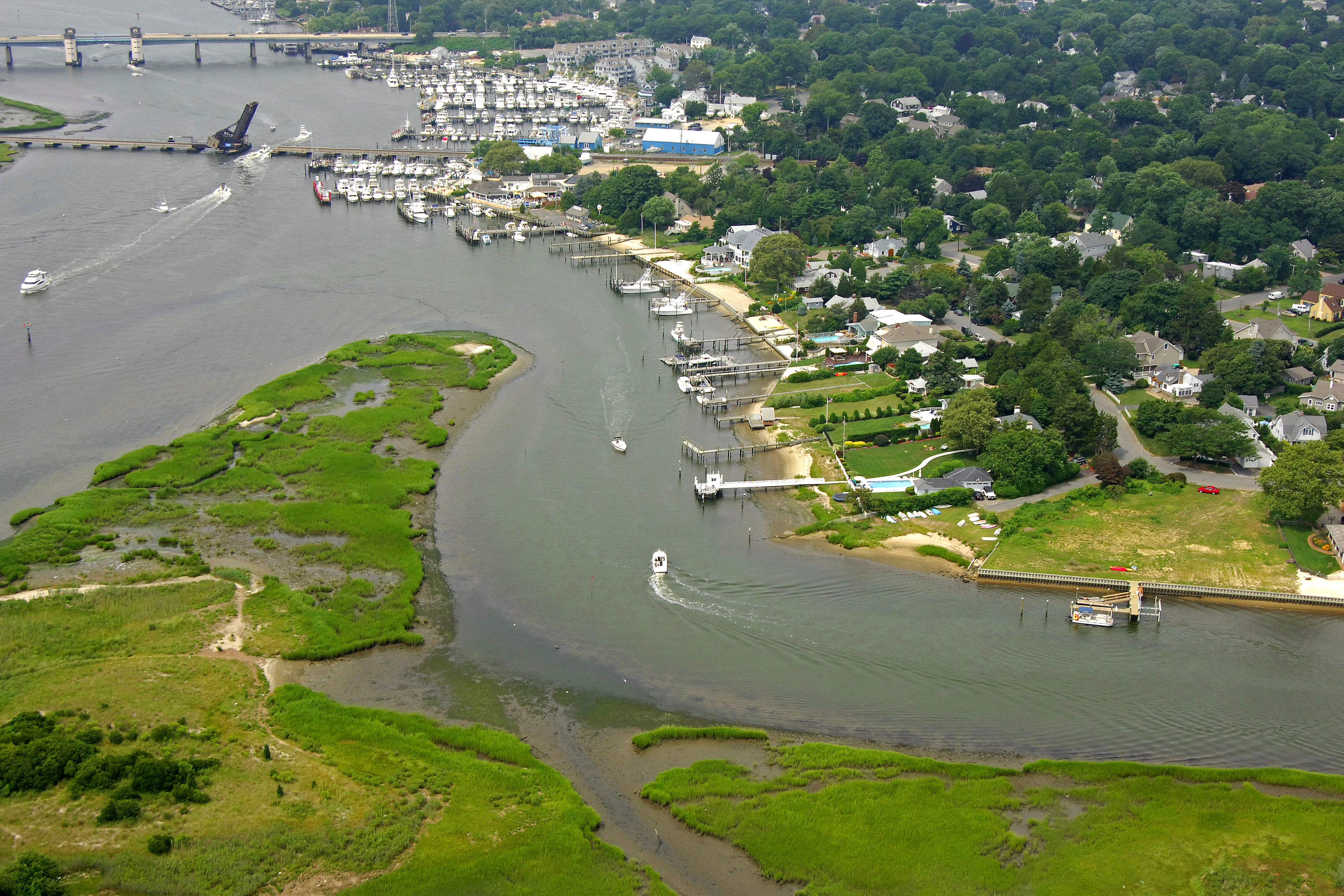 Crabtown Creek Inlet In Manasquan Nj United States Inlet Reviews
