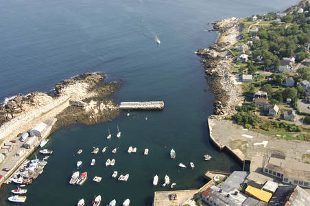 Pigeon Cove Harbor Inlet