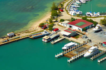 Cayo Obispo Ferry Dock