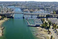 Burrard Bridge Civic Marina
