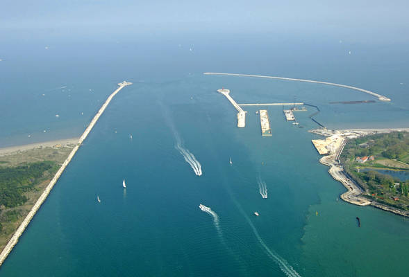 Port of Malamocco Inlet