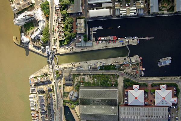 West India Docks Lock