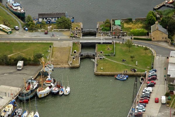 Glasson Dock Lock