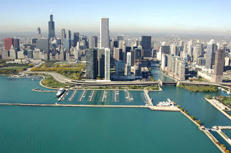 DuSable Harbor, the Chicago Harbors