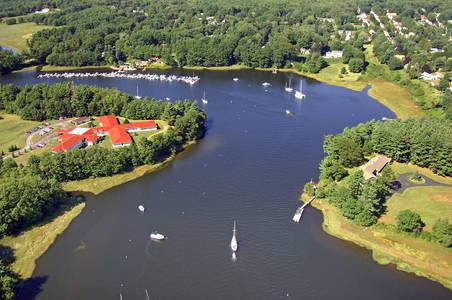 Saco River at Camp Ellis