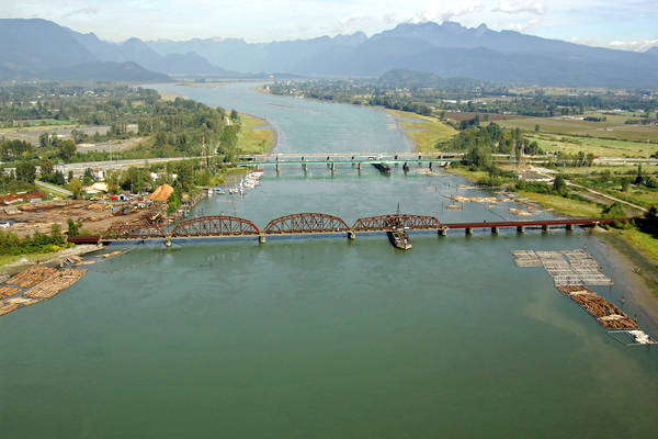 Pitt River Canadian Pacific Railway Bridge