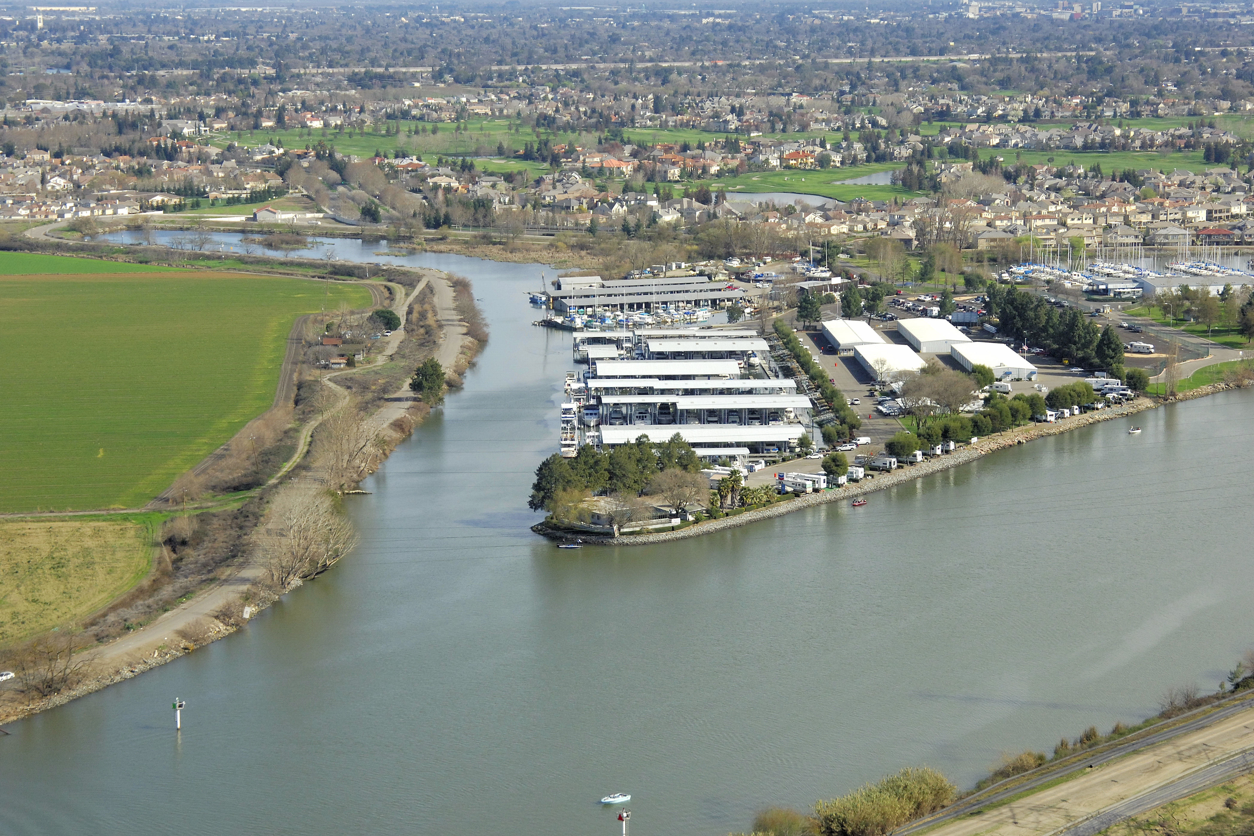 River point landing marina in stockton ca united states for Riverpointe