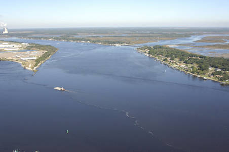 East Blount Island Channel Inlet