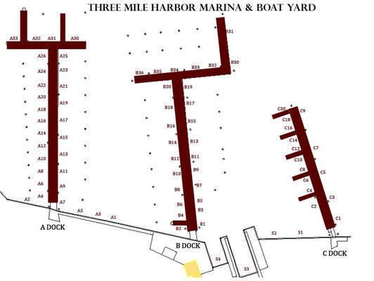 Three Mile Harbor Marina Moorings