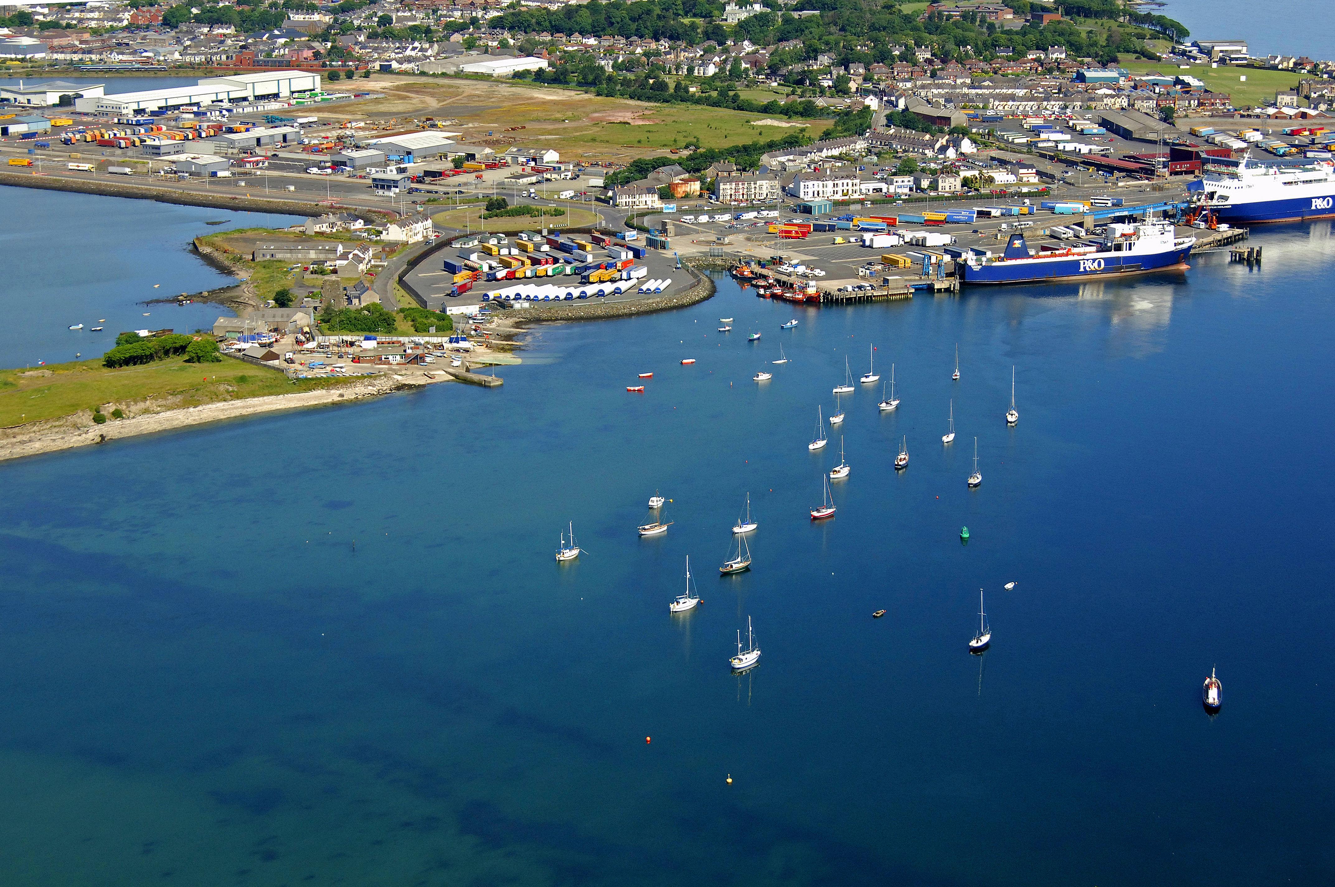 East Antrim Boat Club in Larne, NI, United Kingdom - Marina