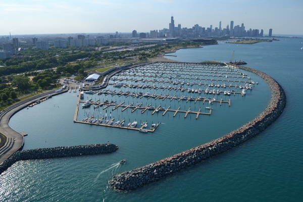 31st Street Harbor, the Chicago Harbors