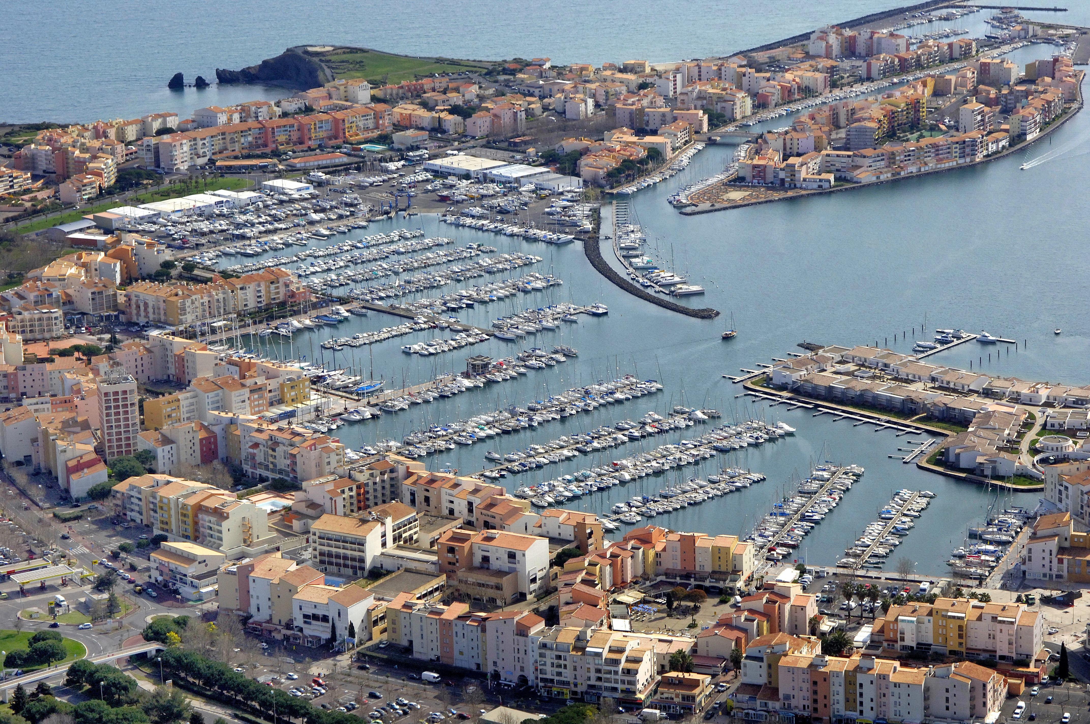Cap dAgde Marina in Cap dAgde, Agde, France - Marina