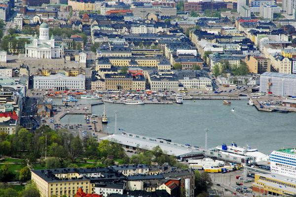 Helsinki Vironallas Harbour