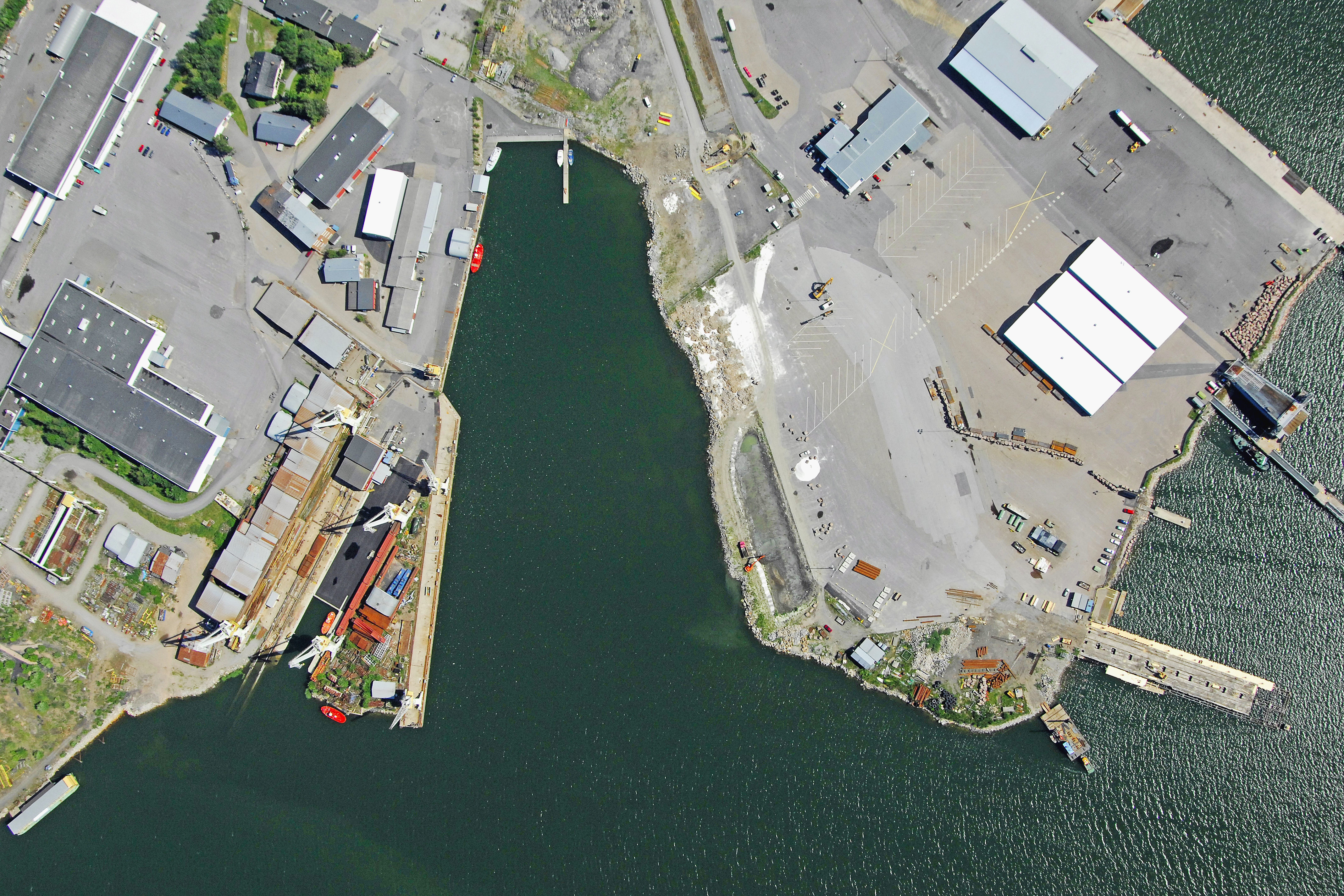 Uusikaupunki Kainpirtti Harbour in Uusikaupunki Finland Marina