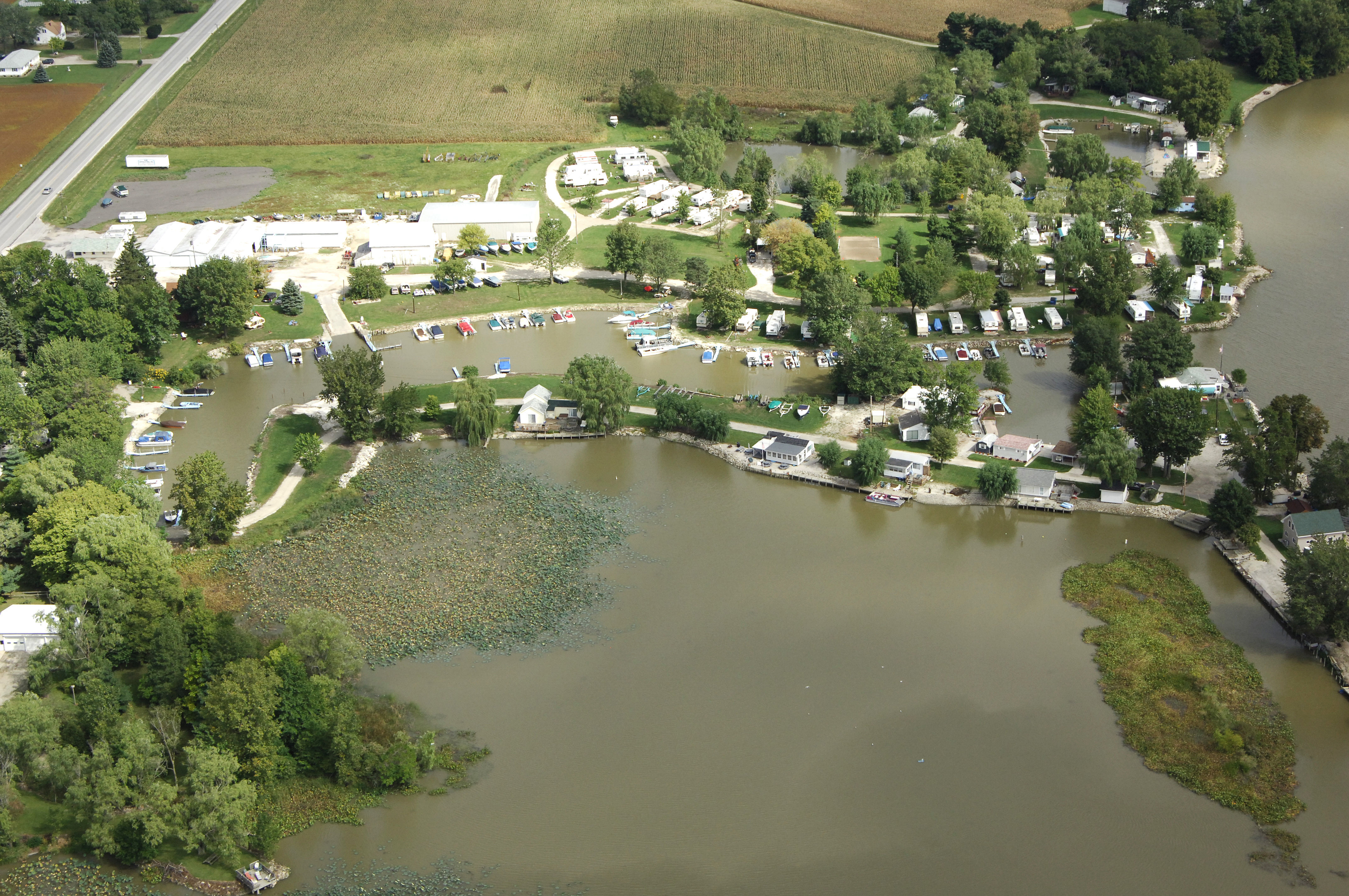 Riverfront Marina & Campground in Fremont, OH, United States
