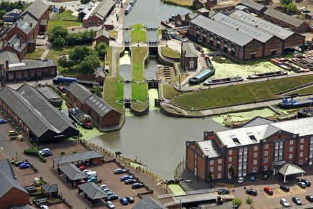 Shropshire Union Canal Locks