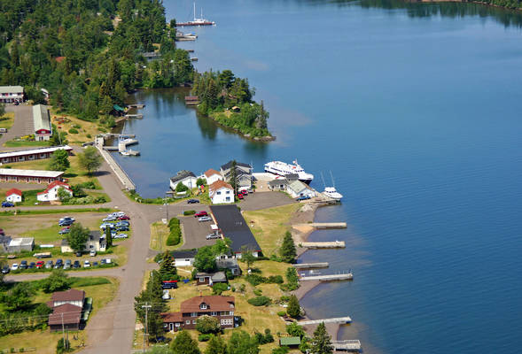 Isle Royale Ferry Dock