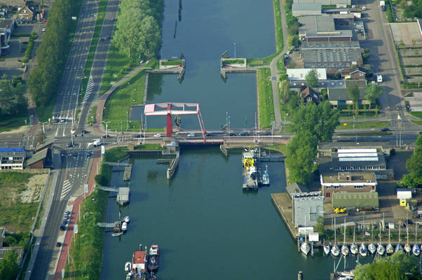 Vlissingen North Keersluis Bridge