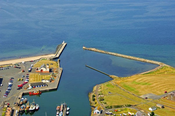 Girvan Harbour Inlet
