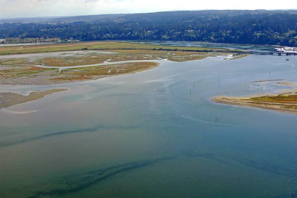Nicomekl River Inlet